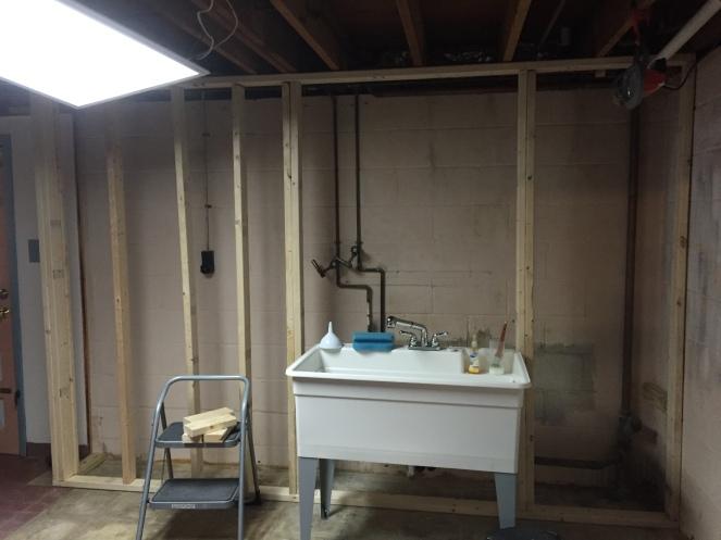 Laundry wall part 2